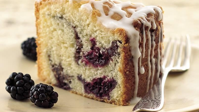 Blackberry Coffee Cake