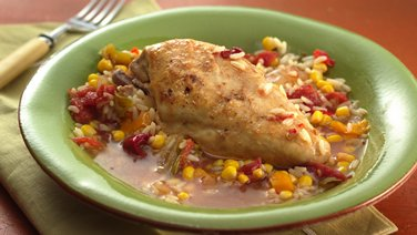 Slow-Cooker Chipotle Chicken and Rice