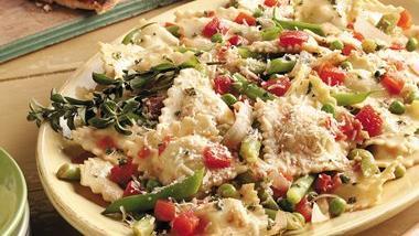 Ravioli With Vegetables