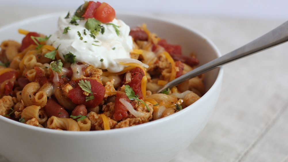 Chicken Taco Chili Mac
