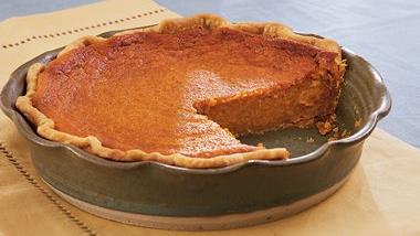 Roasted Sweet Potato Pie