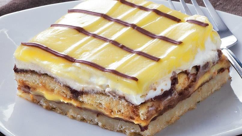 Chocolate-Vanilla Layered Bars