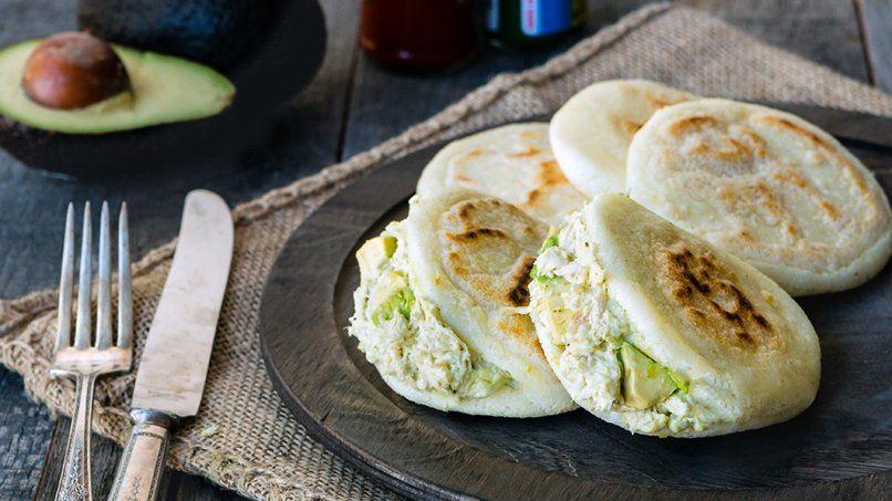 Reina Pepiada Arepas Recipes — Dishmaps
