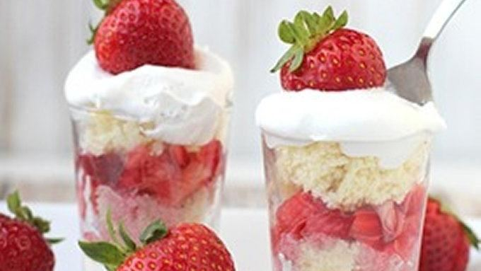 Strawberry Shortcake Shooters
