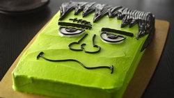 Halloween Monster Cake