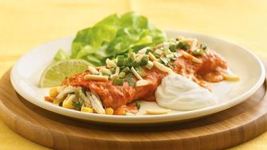 Cravin' Crab Enchiladas