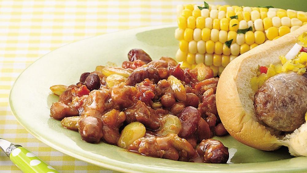 Southwestern Calico Baked Beans