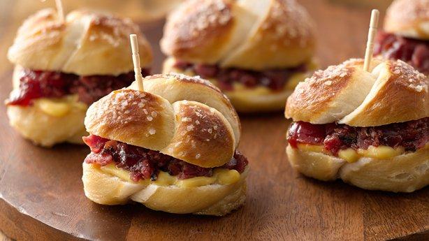 Pastrami-Pretzel Bites