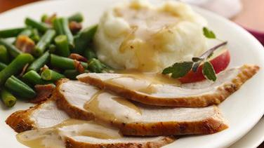 Apple-Sage Brined Turkey Breast