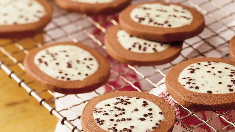 Chocolate Wintergreen Cookies