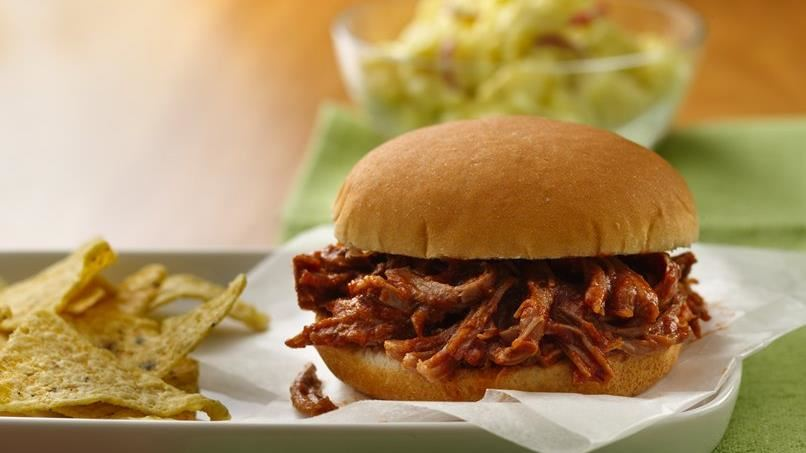 Southwest Pulled-Pork Sandwiches