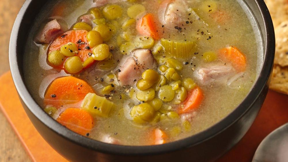 Split Pea Soup with Veggies