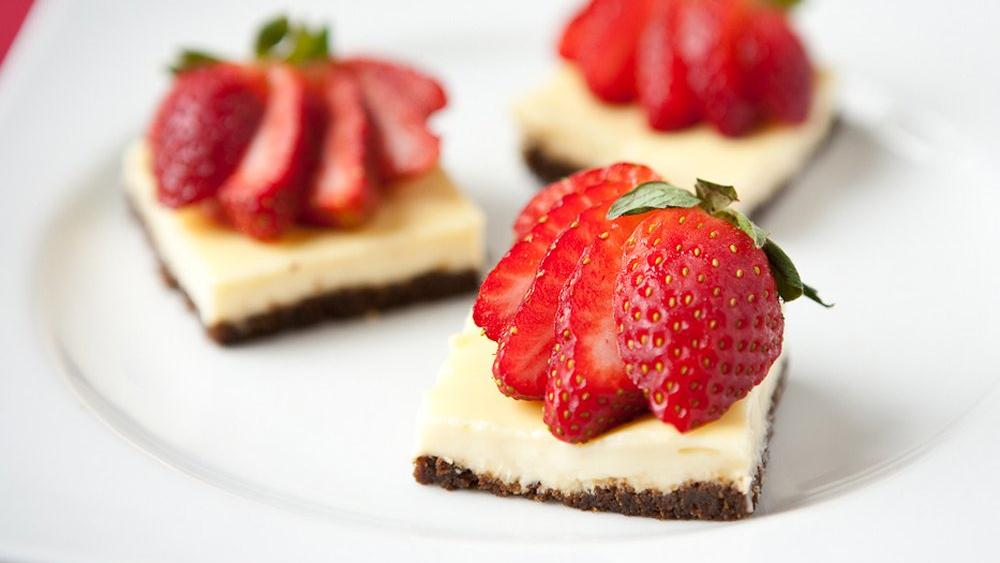 Brownie Cheesecake Bites