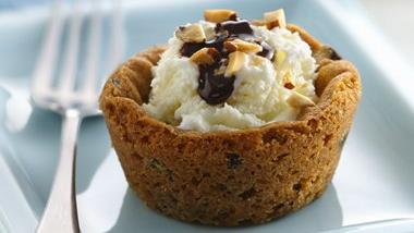 Choco-Coco-Nut Mini Ice Cream Pies