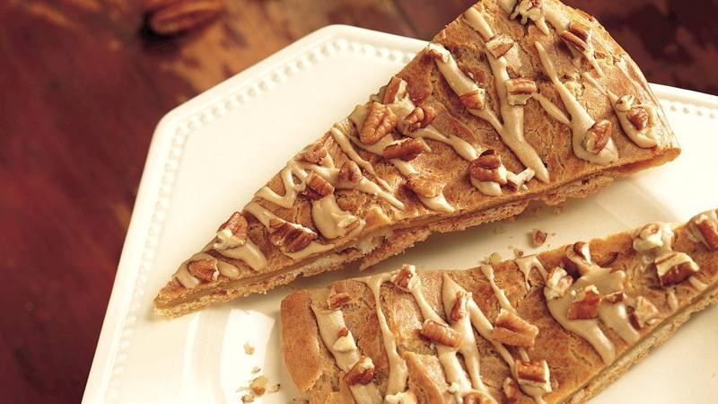 Maple-Pecan Danish Coffee Cake recipe from Betty Crocker