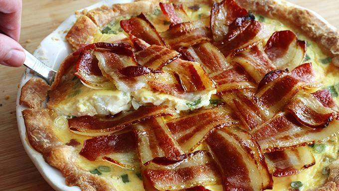 Maple Bacon Breakfast Pie