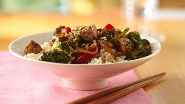 Tofu Stir-Fry with Black Bean Sauce