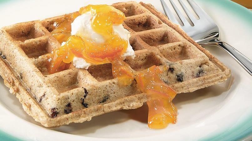 Berry Nutty Breakfast Muffles