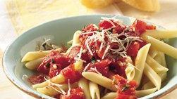 Pasta con Tomate Fresco y Ajo
