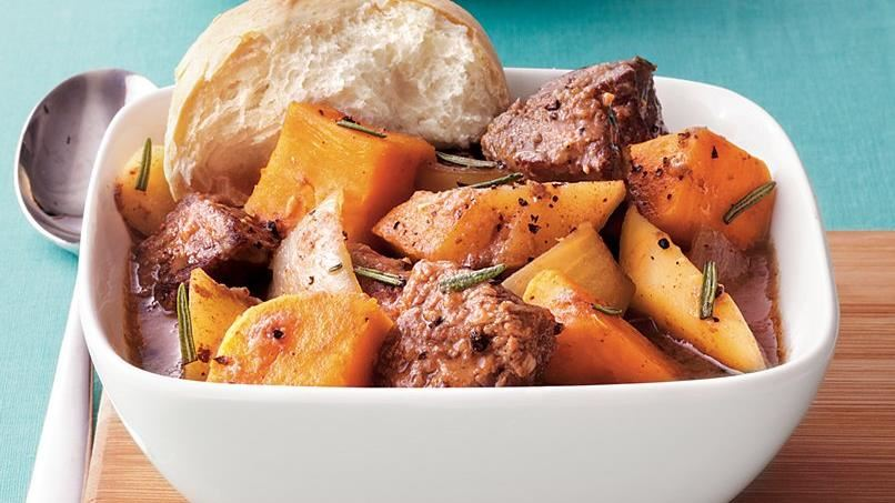 Harvest Beef and Sweet Potato Stew