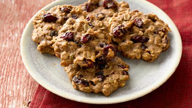 Muesli Cranberry Breakfast Cookies