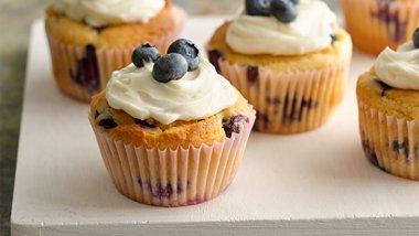 Lemon-Blueberry Muffins