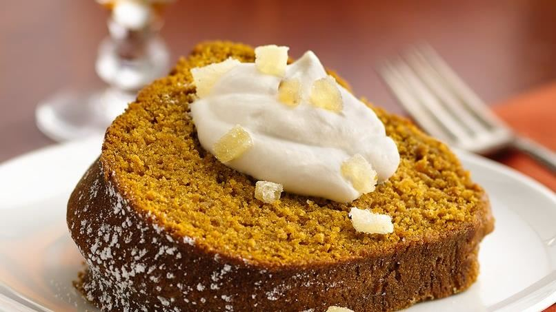 Pumpkin-Apple Gingerbread