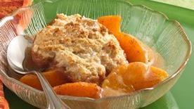 Cinnamon-Peach Cobbler