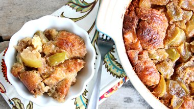 Apple Dumpling French Toast Bake