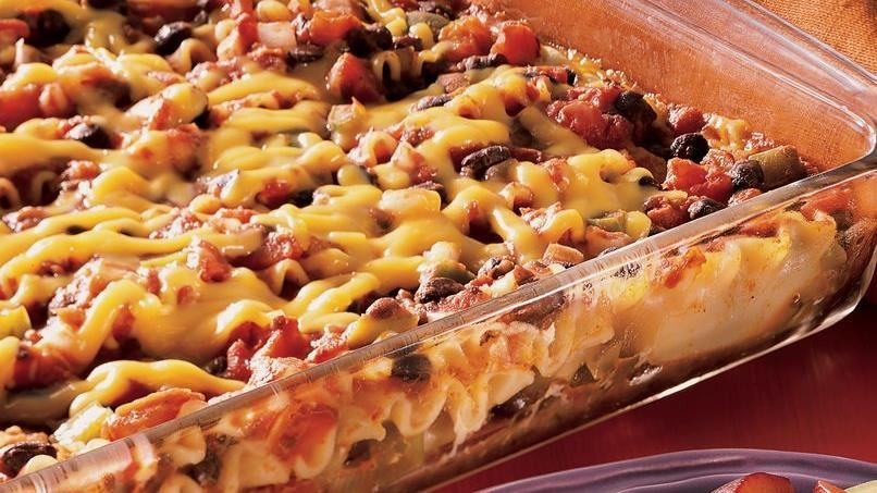 Easy Black Bean Lasagna