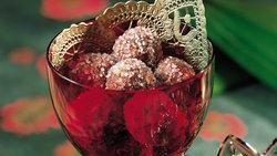 Chocolate-Bourbon Balls