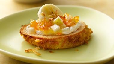 Golden Breakfast Bruschetta