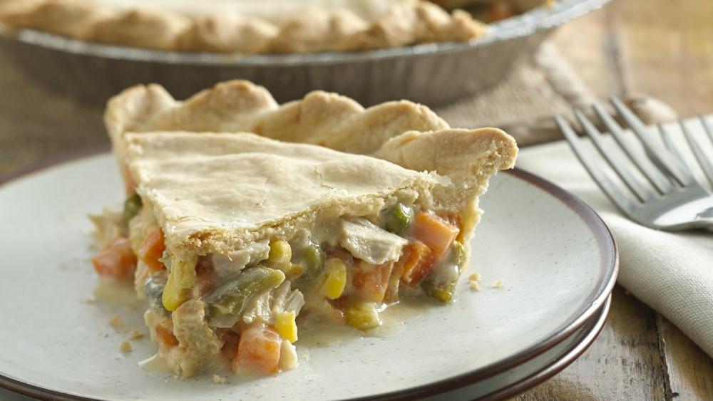 Chicken and Veggie Pot Pie