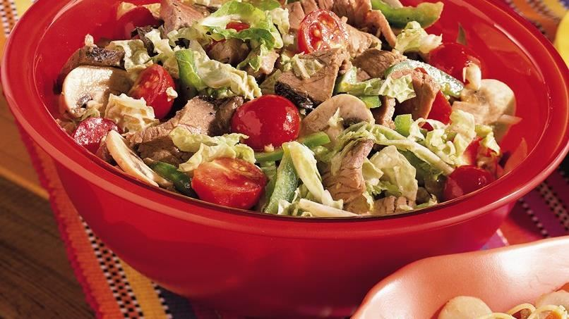 Pepper Steak Salad