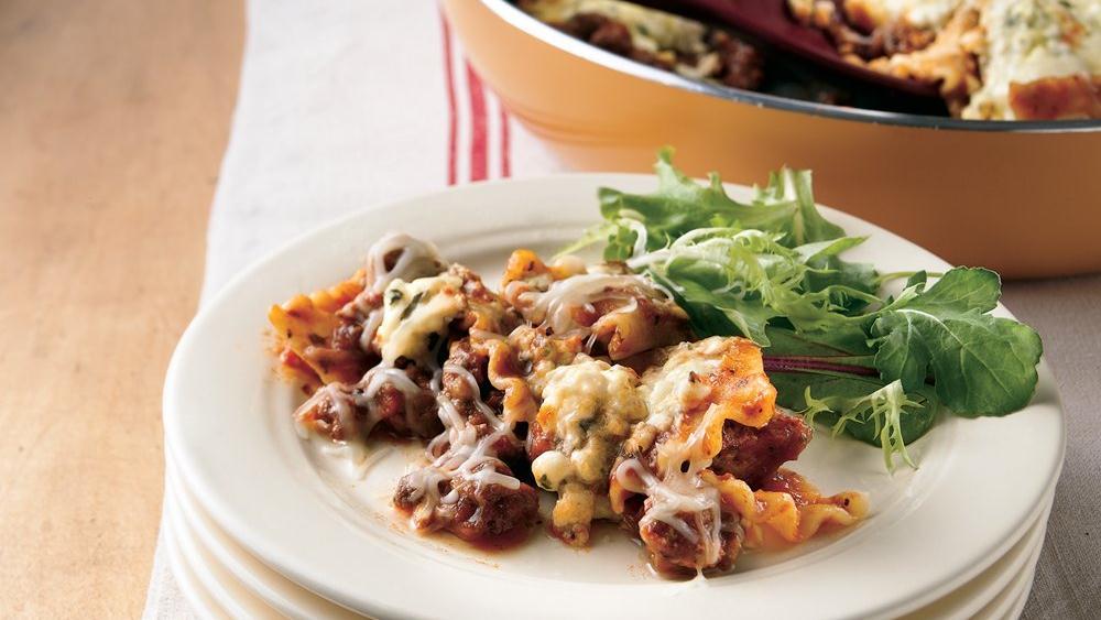 Everyday Lasagna Skillet