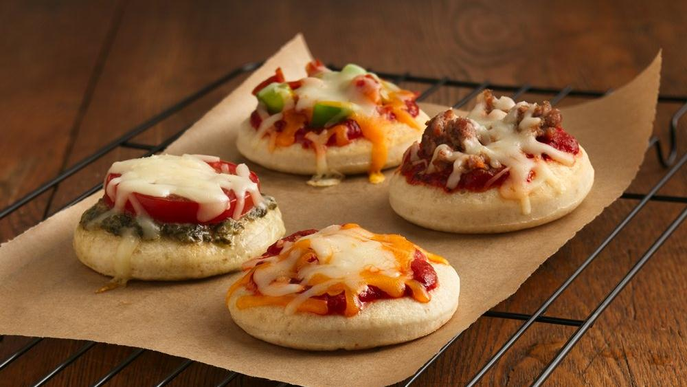 Mini Pizzas recipe from Pillsbury.com