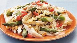 Creamy Chicken-Asparagus Pasta