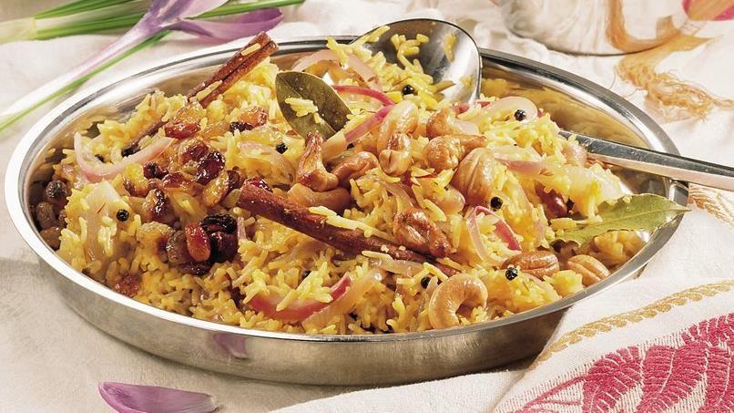 Basmati Rice with Saffron (Zaffrani Pulao)
