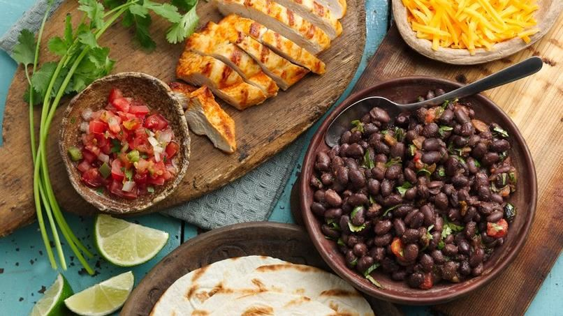 Easy Grilled Chicken Tacos
