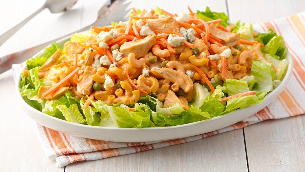 Buffalo Chicken Pasta Salad recipe from Pillsbury.com