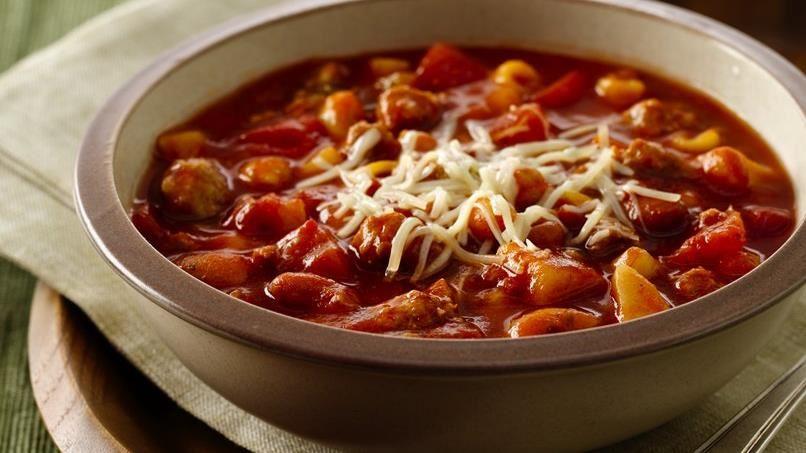 Slow-Cooker Minestrone Stew