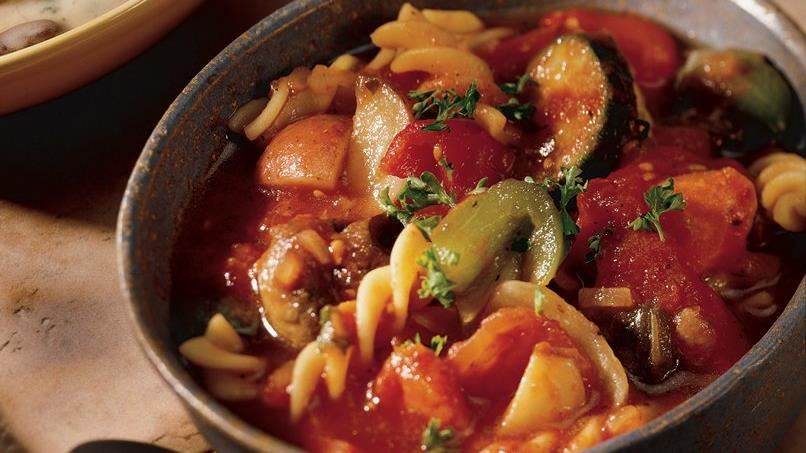 Roasted-Vegetable Stew