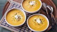 Slow-Cooker Butternut Squash-Parsnip Soup