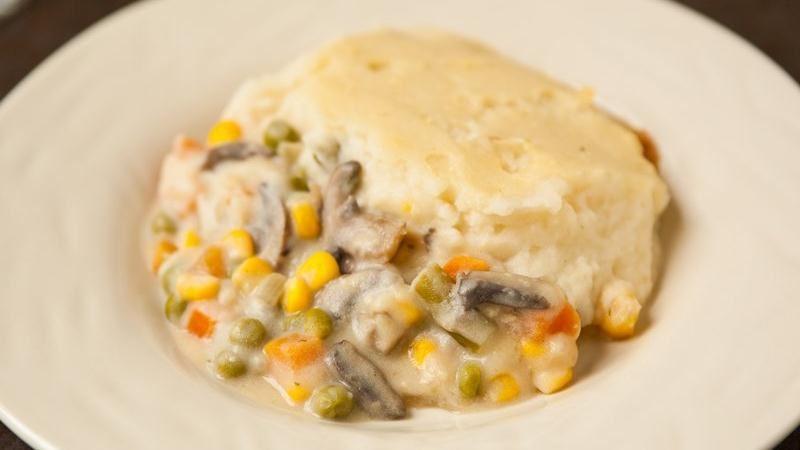 Roasted Garlic Shepherd's Pie
