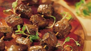 Italian Beef Kabobs (Cooking for 2)