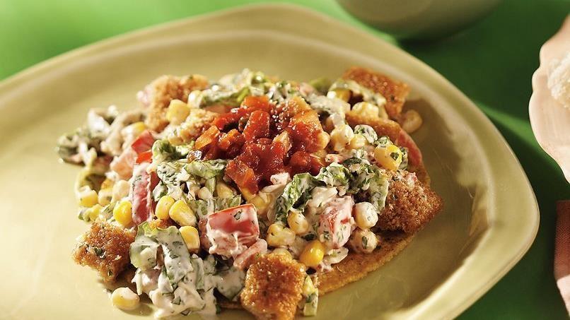 Fish Taco Salad