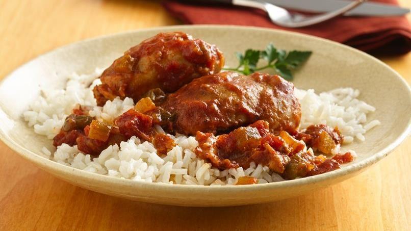 Slow-Cooker Cajun-Seasoned Chicken