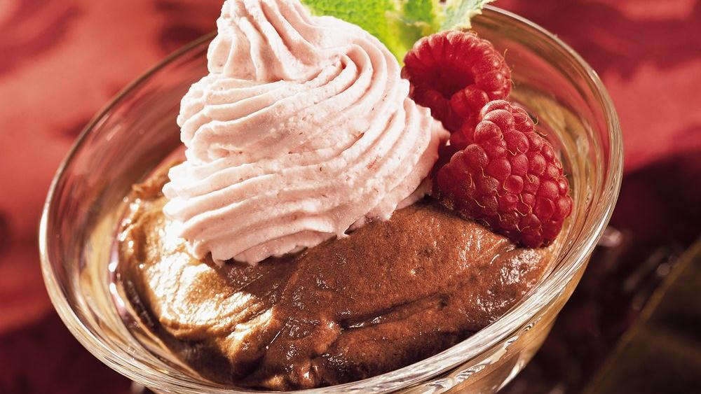 Raspberry-Chocolate Mousse