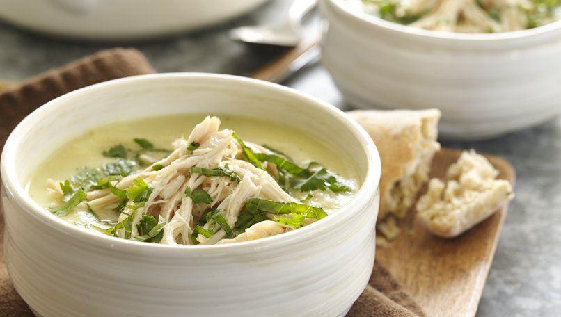 Curried Thai Chicken Potato Soup