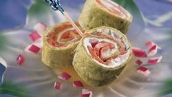 Mini Salmon Wraps